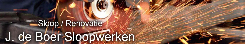 J de Boer Sloopwerken Groningen